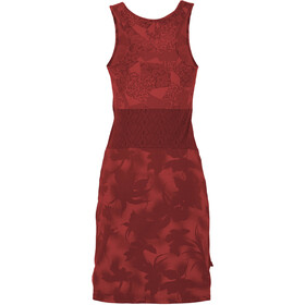 E9 Vale Dress Women, wine
